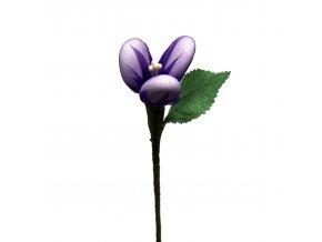 Malá vínová růžička se 3 mandlemi
